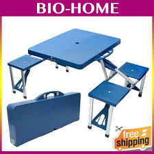 picnic tables folding with seats easy carry camping travel portable f end 8 13 2016 9 15 pm