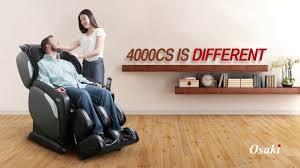 Osaki 4000 Massage Chair Osaki Os 4000 Cs Ls Massage Chair Youtube