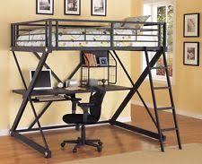 loft bed with desk ebay