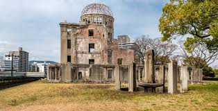 the genbaku dome was the only building left standing near the