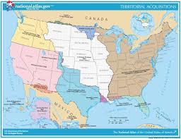 Gardening Zones Usa - us territorial maps 1850 map usa 1850 muretk maps us map in 1850
