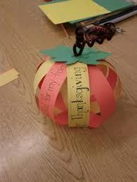 thanksgiving centerpieces paper pumpkin craft for fall
