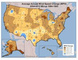 Weather Usa Map by Maps Of Nonhurricane Nontornadic Extreme Wind Speeds For The Us