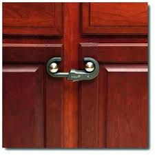 earthquake proof cabinet locks stylish kitchen cabinet lock child proof latches for cabinets image