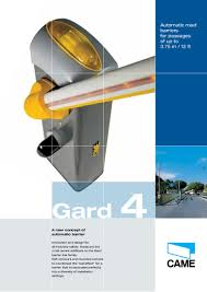 Family Gard Gard 4 Automatic Road Barriers For Passages Of Up To 3 75 M 12 Ft