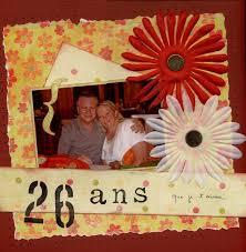 26 ans de mariage 26 ans de mariage scrap odile