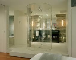 Modern Bathroom Shower Ideas Comtemporary 5 Bathroom With Glass Shower On Bathroom Open Shower