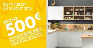 darty com cuisine cuisine 500 euros offerts en carte cadeau