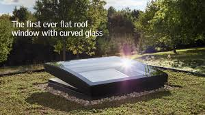 new velux curved glass rooflights u2013 better looking inside and out