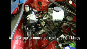 electric power steering pump conversion kit in toyota mr2