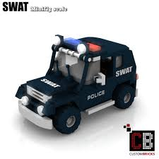 lego police jeep custombricks de lego custom moc city swat police gign raid gru