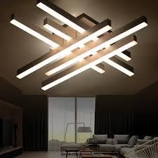 le de plafond pour chambre moderne plafonnier led à distance contrôle en aluminium plafond