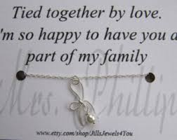 wedding quotes etsy bridesmaid jewelry bridal party gift thank you for being my