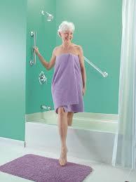 How To Install Bathtub Grab Bars Amazon Com Moen Lr8724d1gbn 24 Inch Designer Bathroom Grab Bar