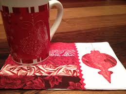 christmas ornament mug and mug rug not your normal sewing