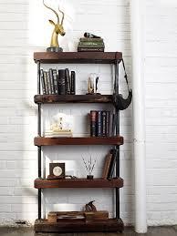 Rek Bookcase Rek Bookcase Industrial Pipe Bookshelf Diy Diy Wall Bookshelf