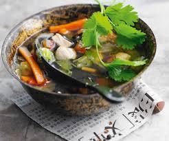 recette cuisine asiatique soupe chinoise au poulet cuisine asiatique