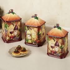 tuscan kitchen canisters sets wine themed kitchen accessories search ideas for my wine