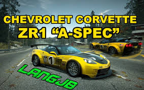 chevy corvette zr1 specs nfs chevrolet corvette zr1 a spec edition
