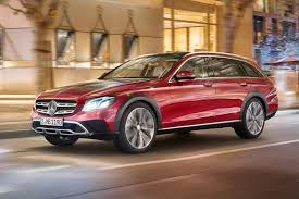 lifted mercedes sedan mercedes gets a lift new e class all terrain revealed by car magazine