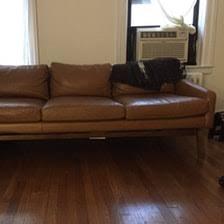 Ikea Sater Leather Sofa Ikea Sater 2 5 Seat Sofa Dark Brown In Brooklyn Heights Kings