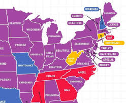 Mcdonalds In America Map by Google Trends Map Shows Most Commonly Misspelled Words In America