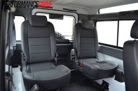 land rover defender 90 interior 2012 land rover defender 90 rear seats