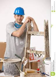 Painting House by Young Guy Painting House Royalty Free Stock Photos Image 17724758