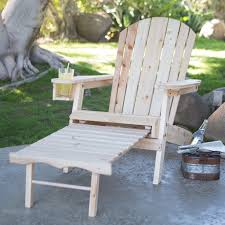 Adirondack Chair With Ottoman To It Coral Coast Big Adirondack Chair With Pull