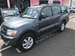 used mitsubishi shogun elegance for sale motors co uk