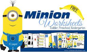 free printable minion homeschool activities kids u2022 free