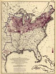 United States Map 1860 by Radicalcartography