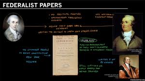 helped write the federalist papers the federalist papers video khan academy