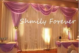 wedding backdrop material aliexpress buy 3x6meters material soft wedding