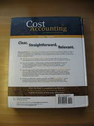 by michael r kinney cecily a raiborn cost accounting