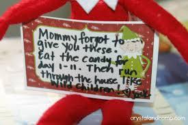 elf on the shelf ideas one dollar advent idea
