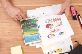 android tablet u0026 paper charts free stock photo negativespace