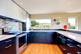 black cabinets white countertops 52 dark kitchens with dark wood or black kitchen cabinets 2018
