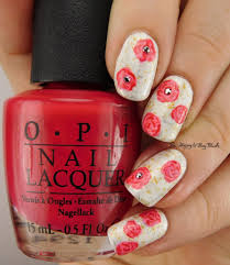opi nail art brushes best nail 2017 antique roses nail art with