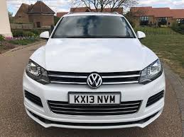 vw touareg 3 0 v6 tdi altitude panoramic roof white 28k low
