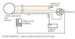 ac fan motor wiring diagram ac wiring diagrams instruction