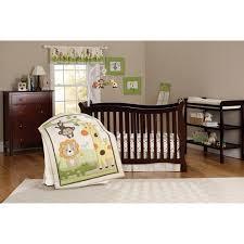 child of mine safari party crib bedding 3 piece set walmart com