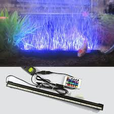 aquarium lights for sale sale led remote underwater submersible aquarium led light air pump
