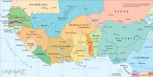 Political Map Of Africa by File Westafrica Png Wikimedia Commons