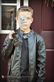 terminator costume tween boy boys terminator costume