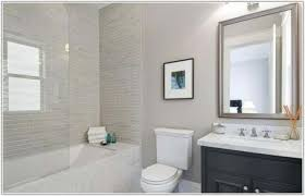 Subway Tiles In Bathroom Modern White Subway Tile Bathroom Tiles Home Decorating Ideas