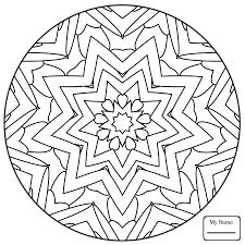mandala star pattern arts culture star mandalas coloring