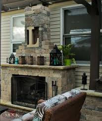 Landscape Fire Features And Fireplace Image Gallery A Patio Fireplace Place With Built In Wood Storage Fire Features