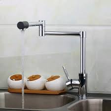 sink kitchen faucet new design swivel 360 spray chrome brass water tap wash basin sink
