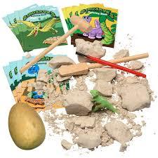 dinosaur excavation kit dig plaster egg discover